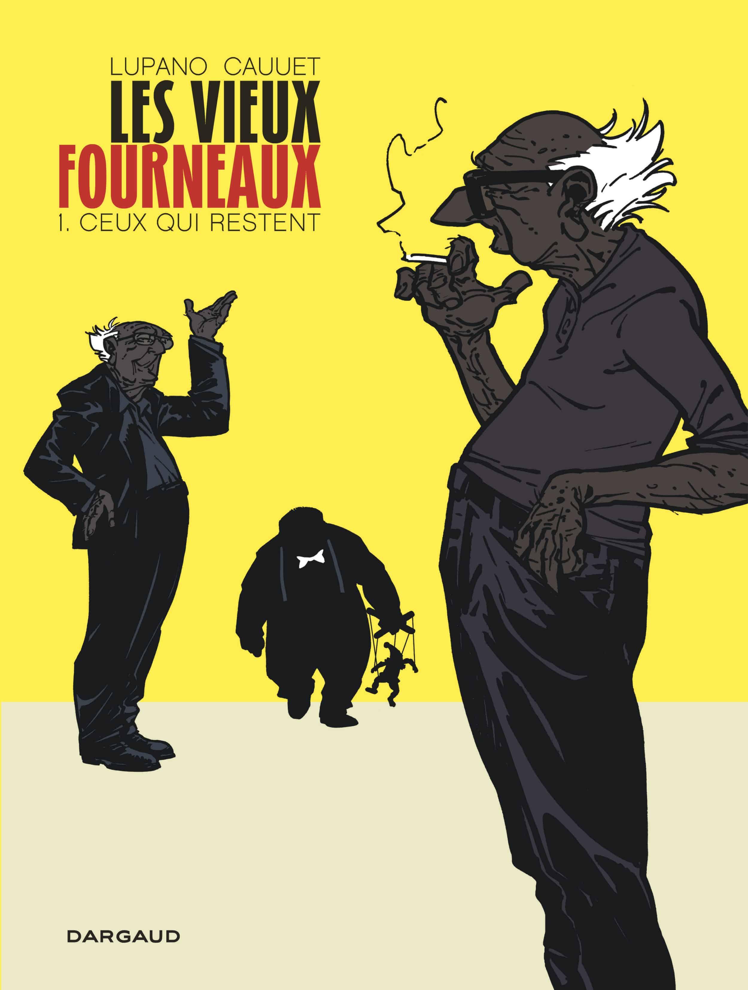 Les Vieux Fourneaux reçoit le Prix des Libraires de BD 2014
