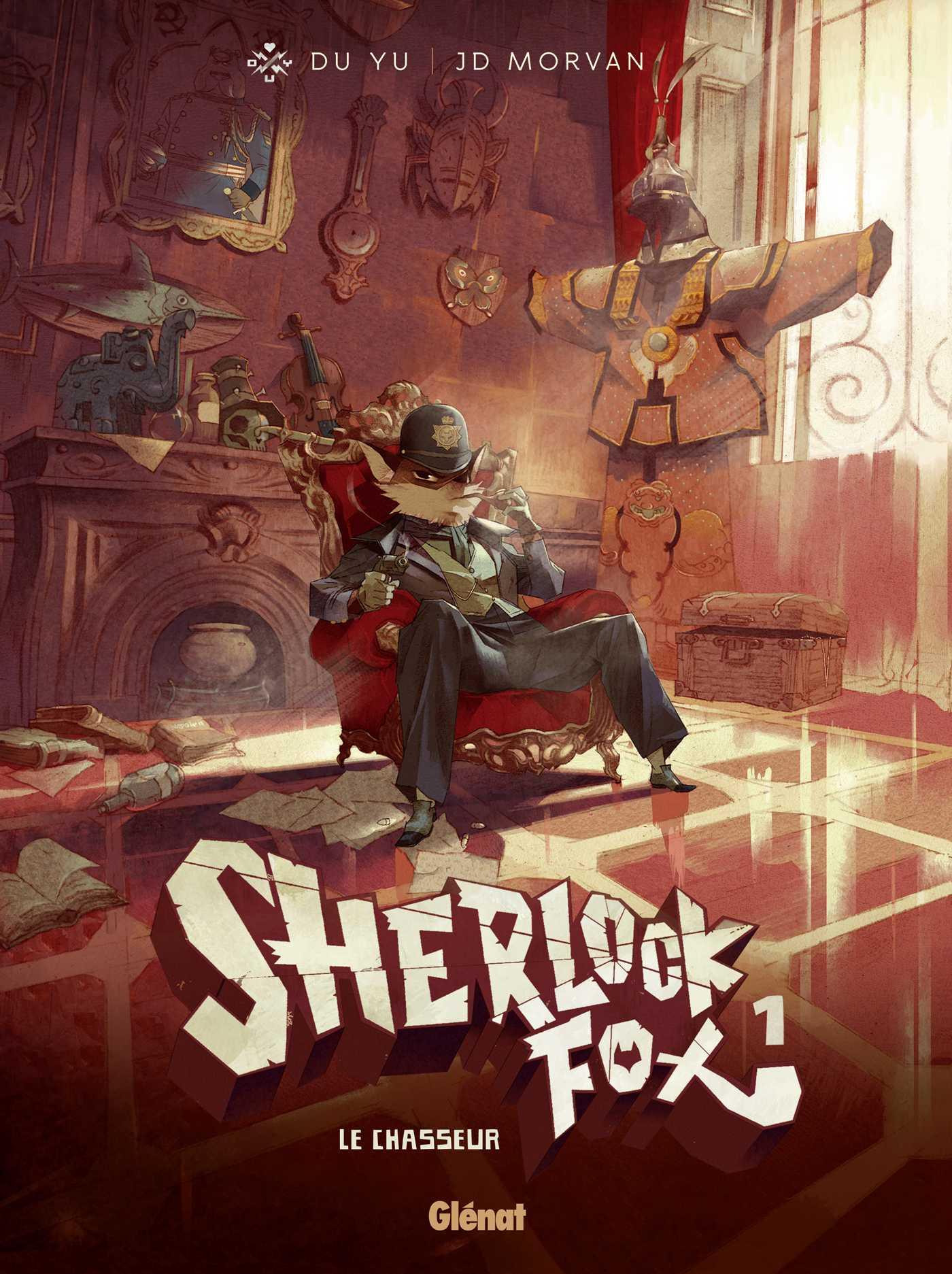 Sherlock Fox, un polar animalier par Morvan
