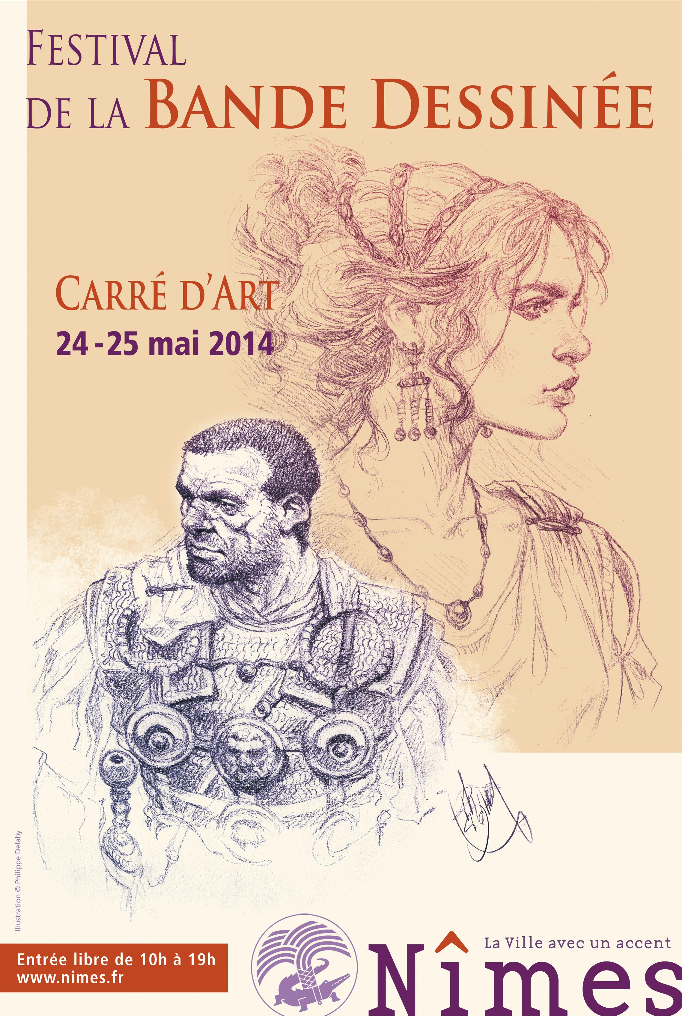 Festival de Nîmes, les auteurs présents les 24 et 25 mai