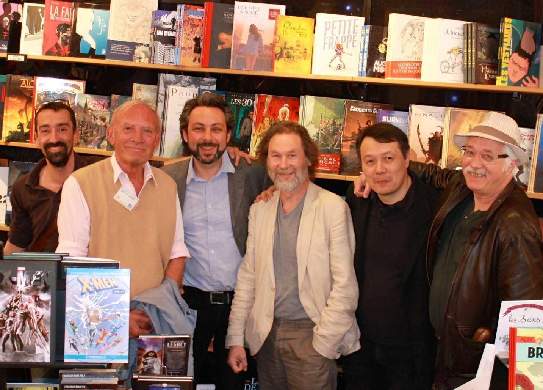 Comédie du Livre à Montpellier avec Van Hamme, Le Tendre, Dorison, Nury, Rossi, Cuzor