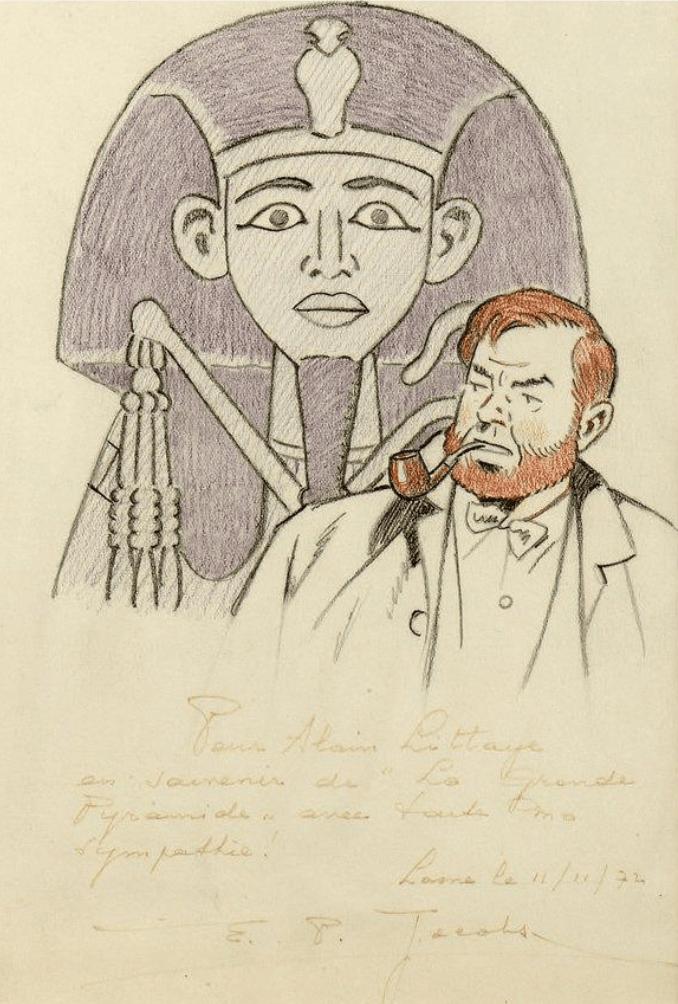 Dédicace de Edgar P. Jacobs