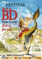 7e Festival BD de Sainte-Enimie les 28 et 29 juin avec Patrick Jusseaume, Jean-Michel Arroyo, Hubsch