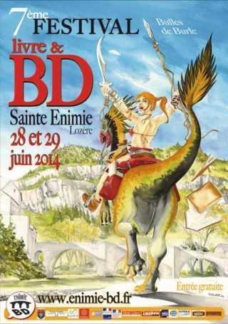 Festival BD de Sainte-Enimie 2014