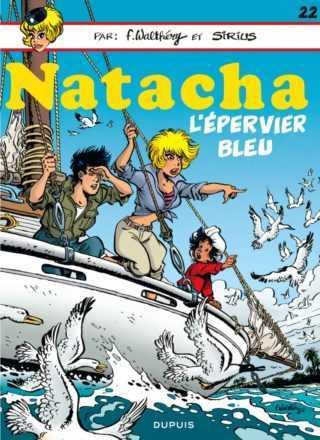 Natacha, une intégrale et une balade sur l'Épervier bleu pour la jolie hôtesse
