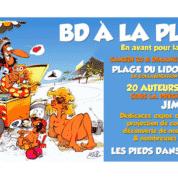 La BD sur la plage à Sète, c'est le 30 et 31 août 2014