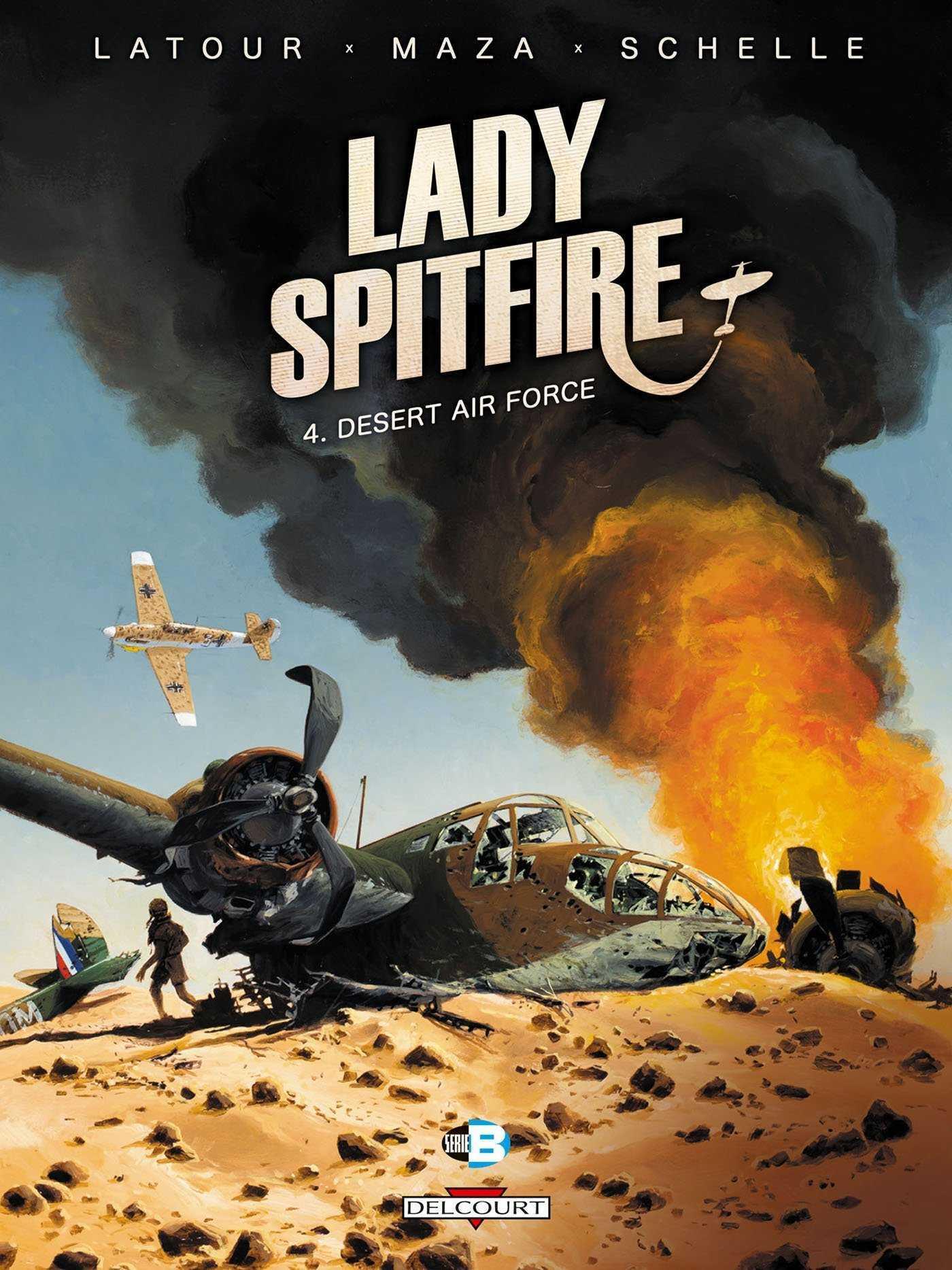 Lady Spitfire T4, la fin sous le soleil de Libye
