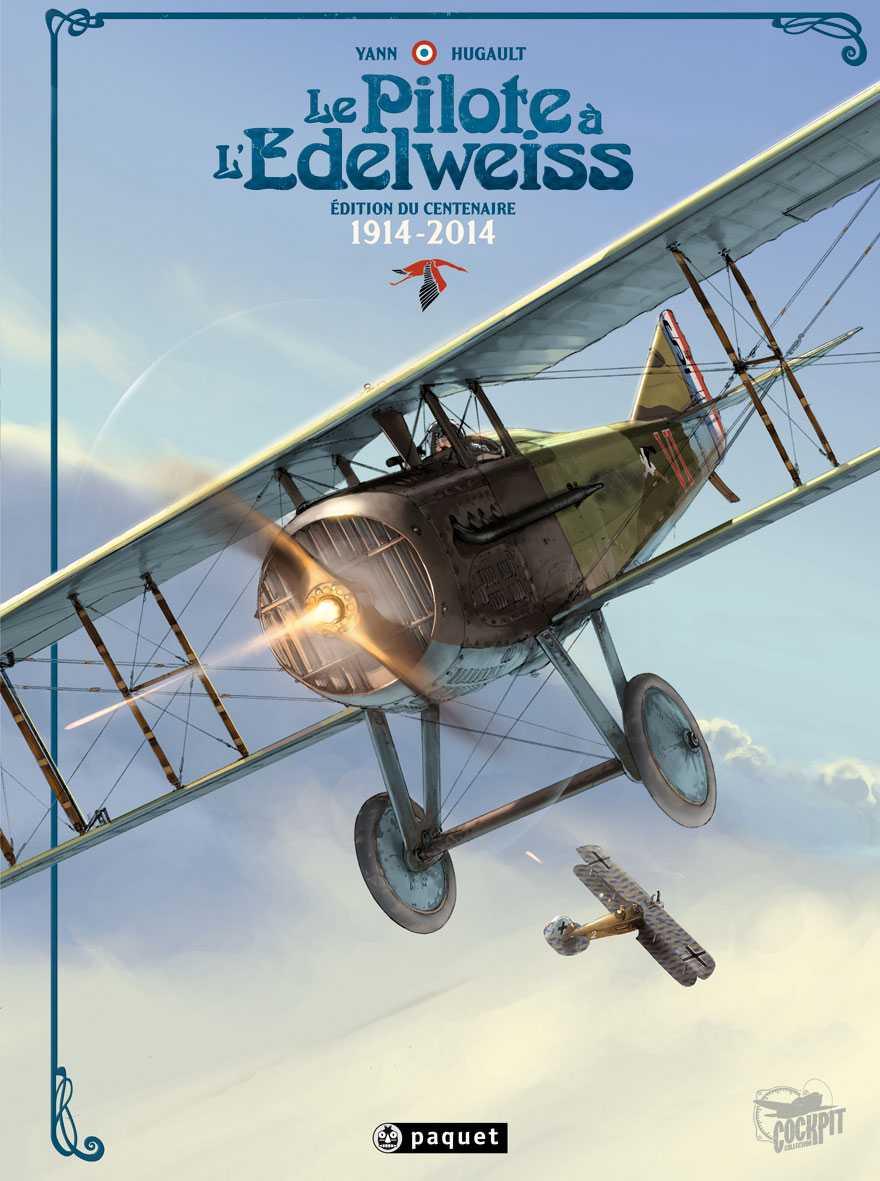 Paquet décolle en juin avec Speedbirds et un tirage spécial du Pilote à l'Edelweiss