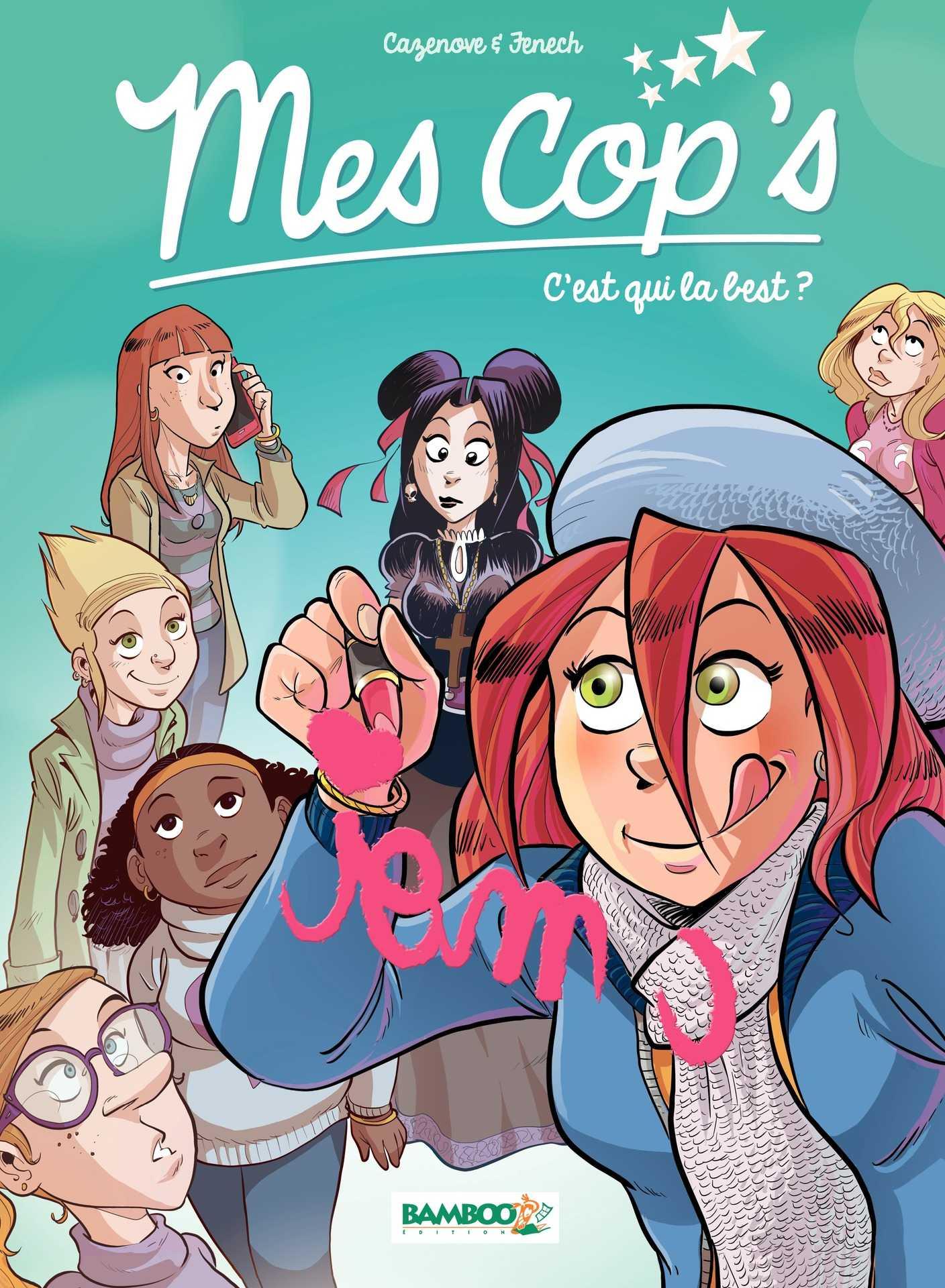 Mes Cop's tome 2, c'est qui la best ?