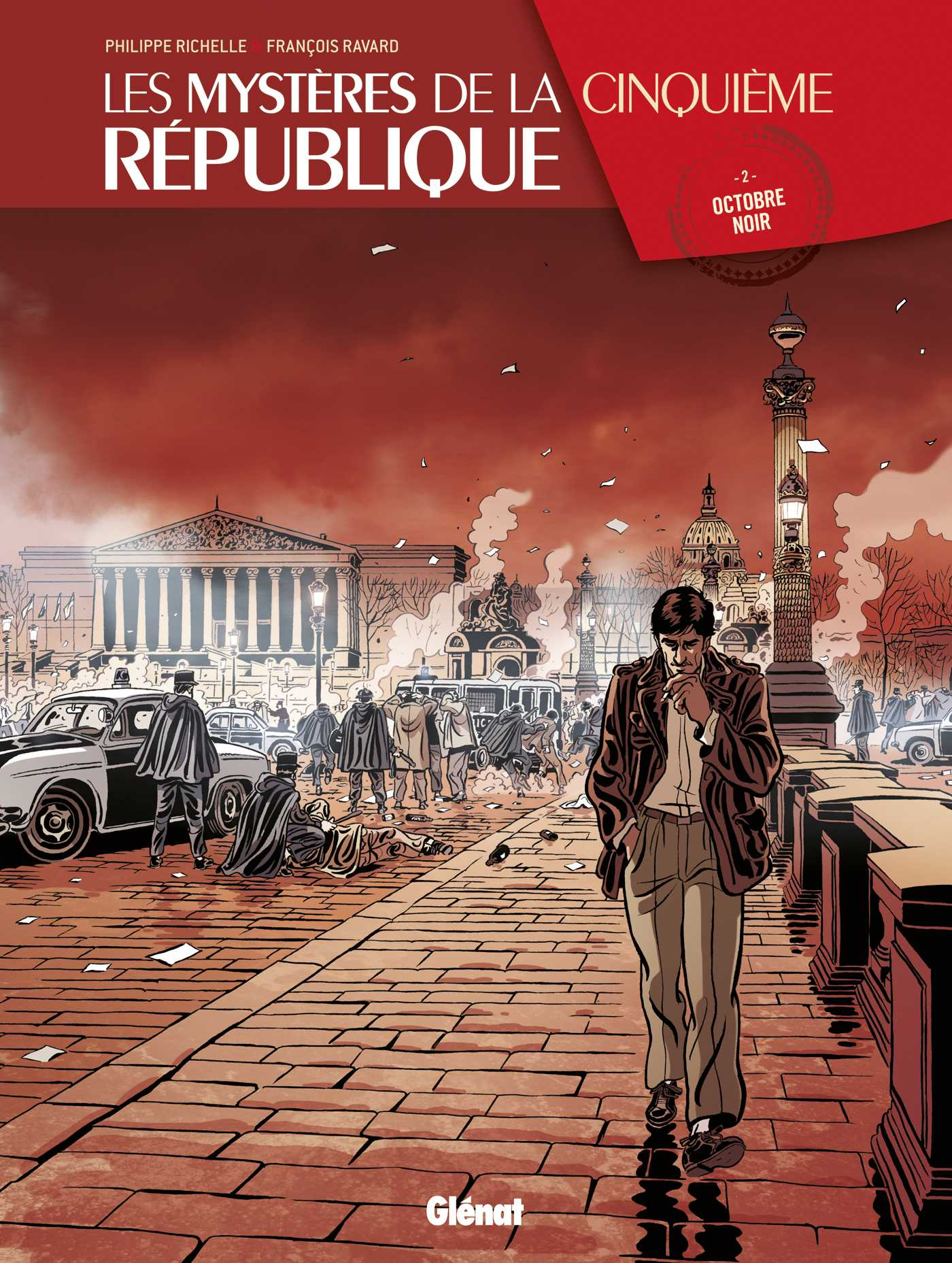"""Les Mystères de la Ve République T2, """"l'affaire"""" algérienne"""