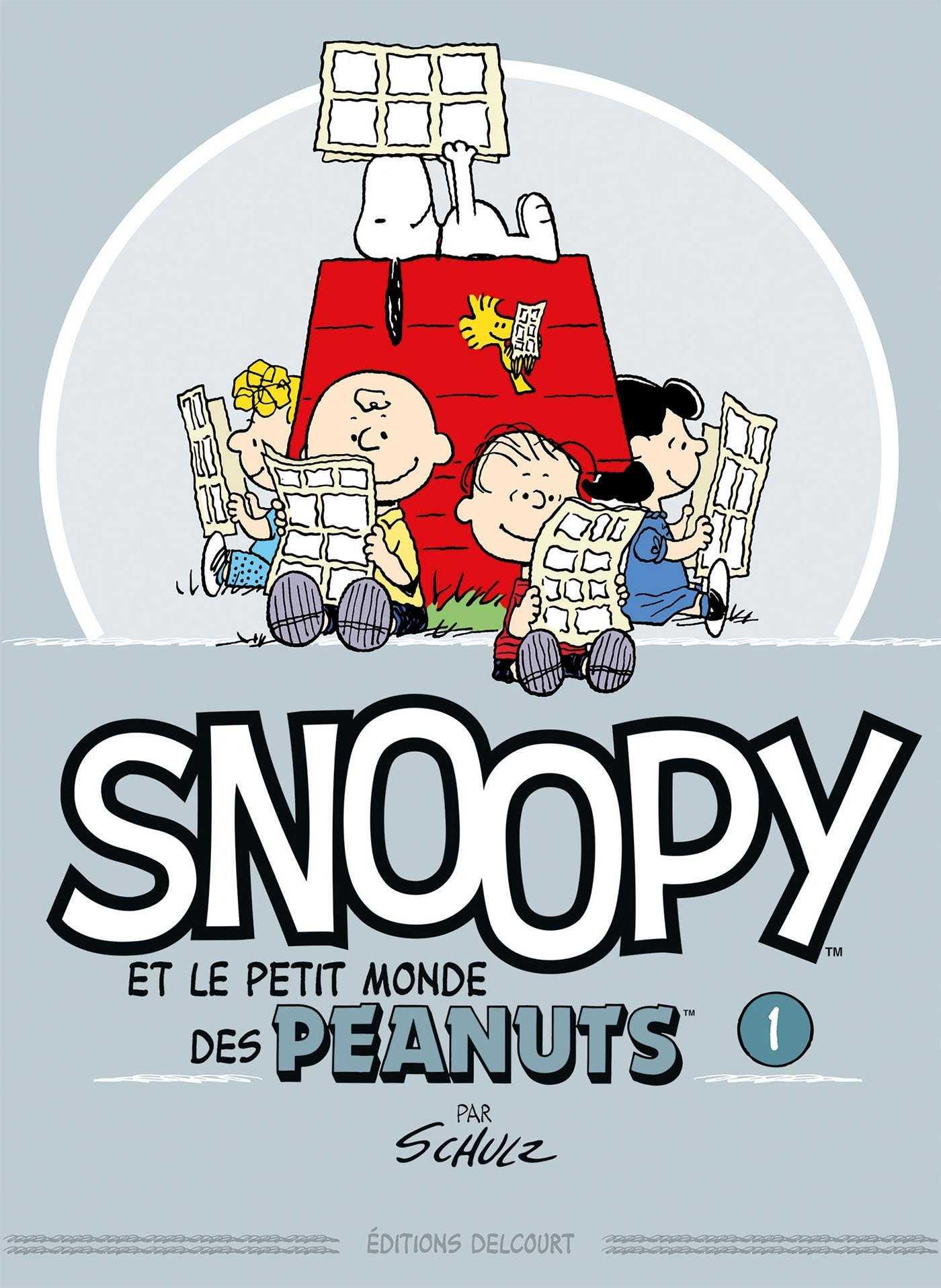 Snoopy, le retour des Peanuts chez Delcourt