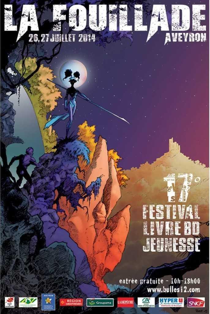 Festival BD de La Fouillade 2014
