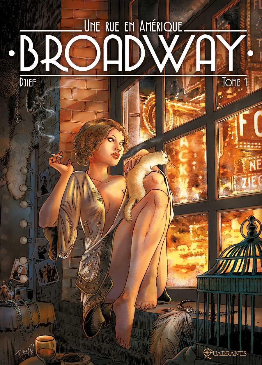 Broadway, une rue en Amérique