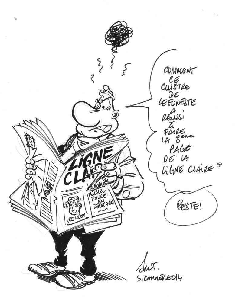 Dédicace de Serge Carrère