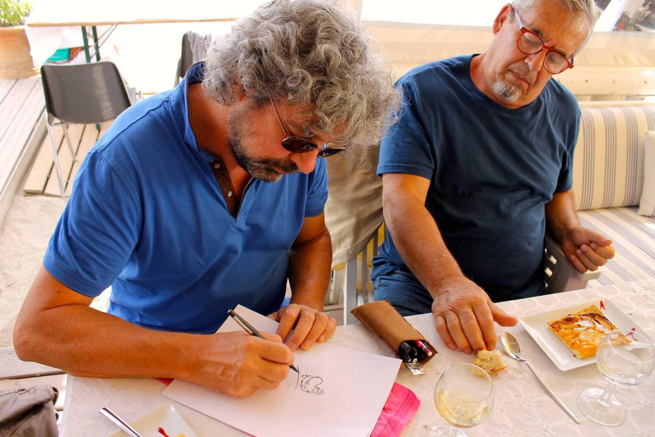Interview : Serge Carrère pour la reprise réussie d'Achille Talon