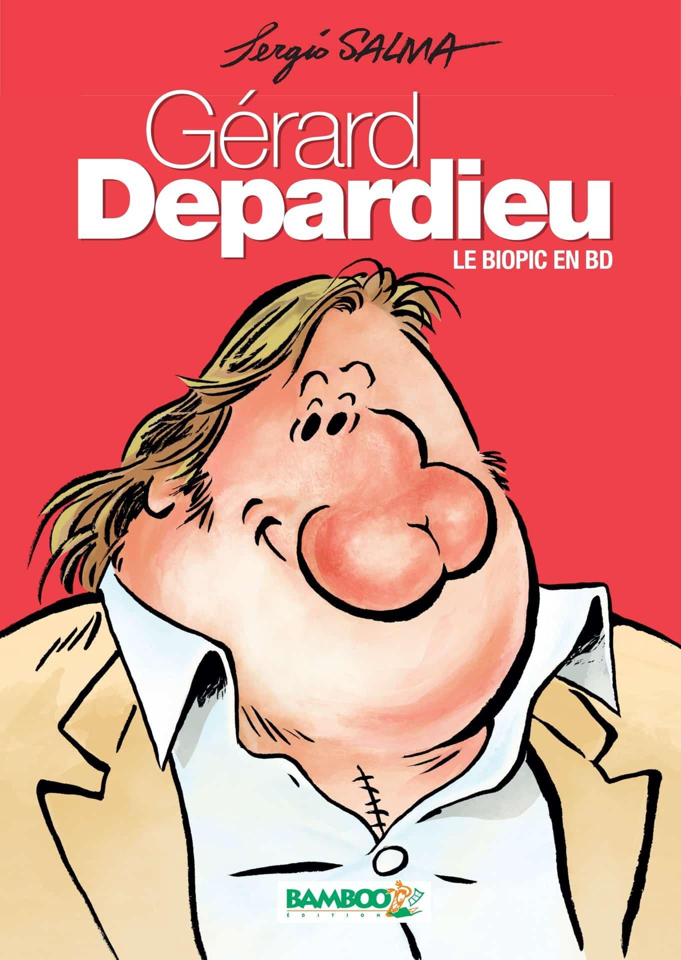 Gérard Depardieu, un héros de BD