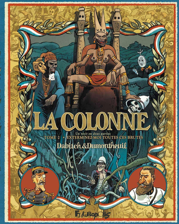Dumontheuil avec La Colonne et Pourquié avec Bekame chez Azimuts à Montpellier le 8 novembre