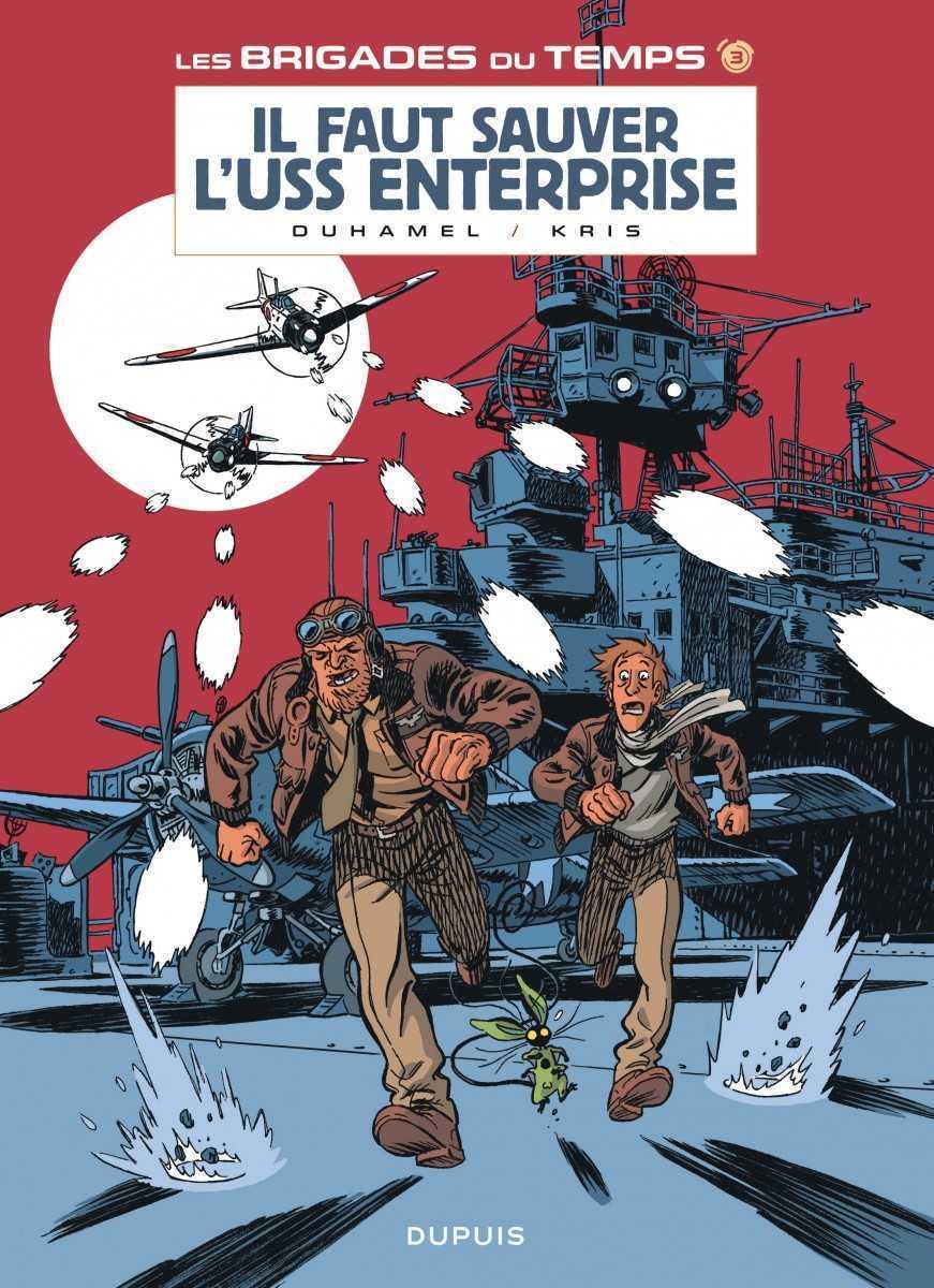 Les Brigades du temps T3, il faut sauver l'Enterprise