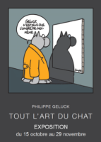Geluck expose le Chat qui revisite les géants de l'art