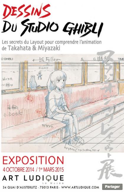 Le Studio Ghibli en vedette chez Art Ludique - Le Musée à Paris