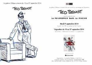 Ted Benoit avec Ray Banana expose à la Galerie Oblique