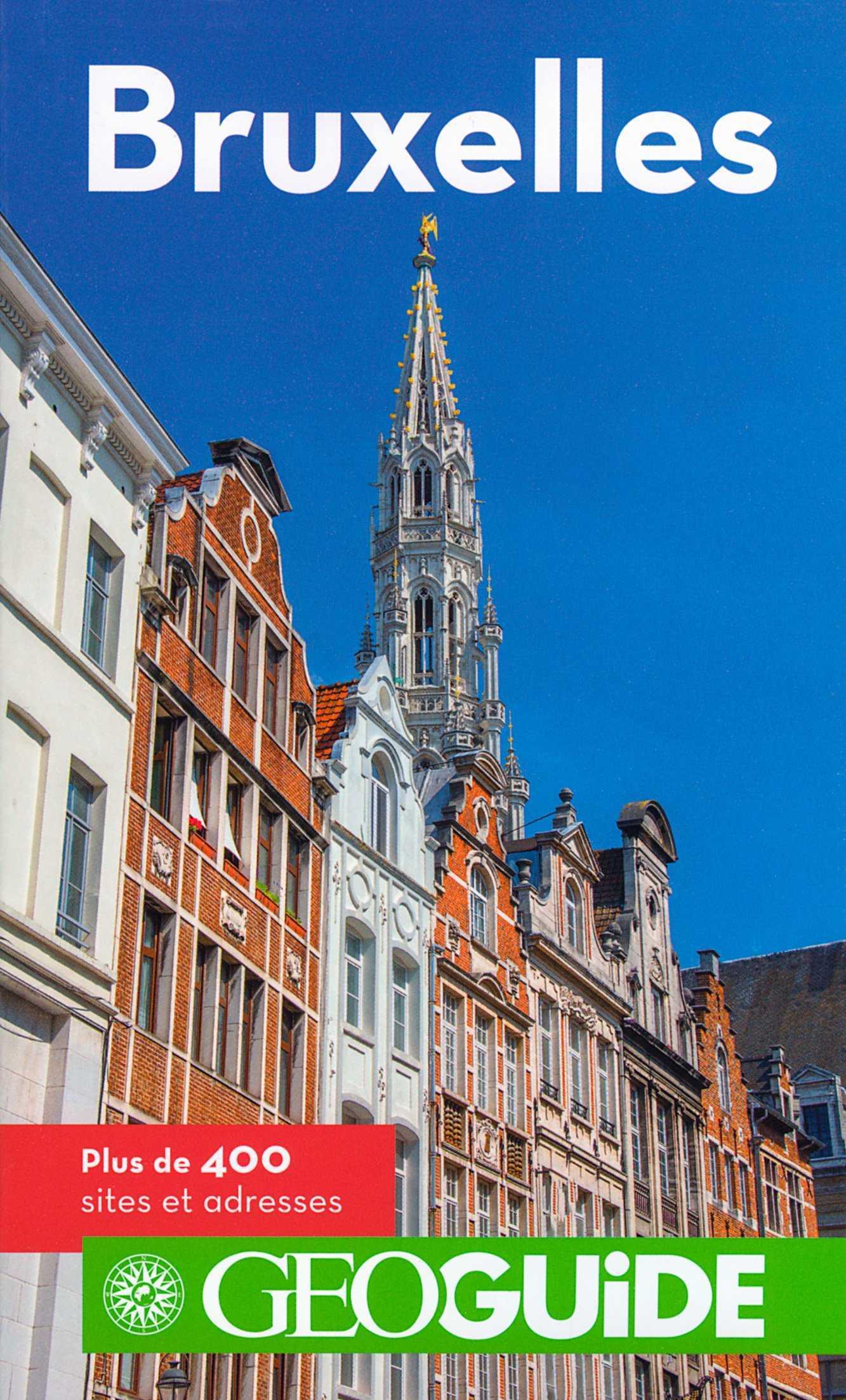 Bruxelles, un guide en BD avec Tintin et Géo