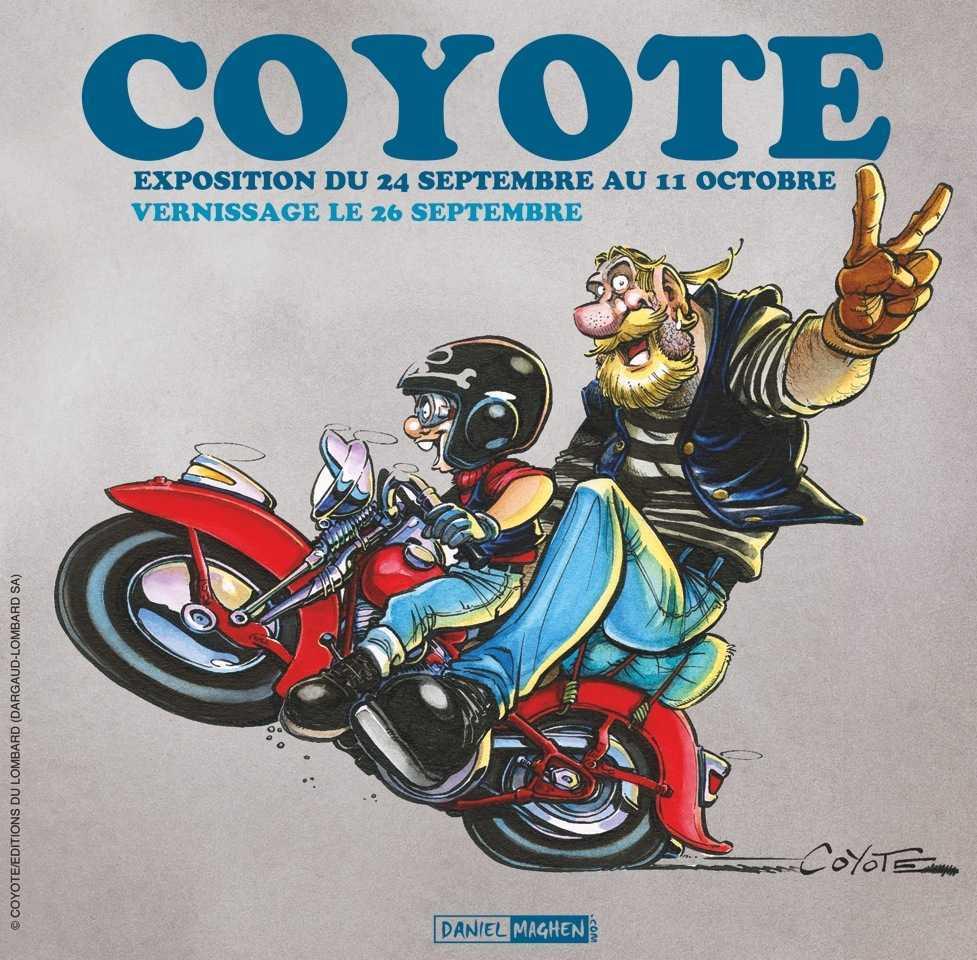 Coyote, une exposition vente chez Maghen à Paris