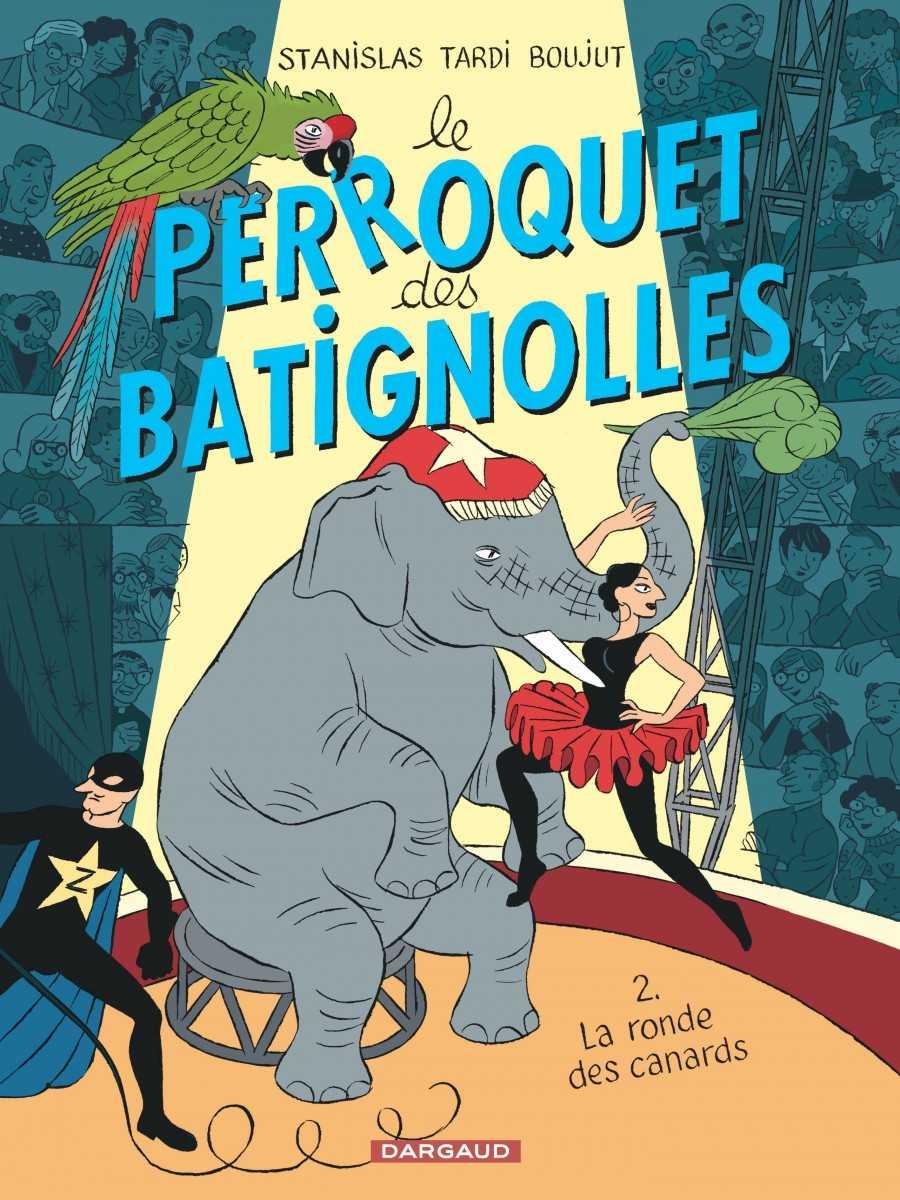 Stanislas et Le Perroquet des Batignolles s'exposent chez Champaka Paris