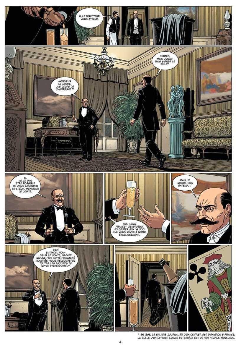 L'homme à l'origine de l'affaire Dreyfus