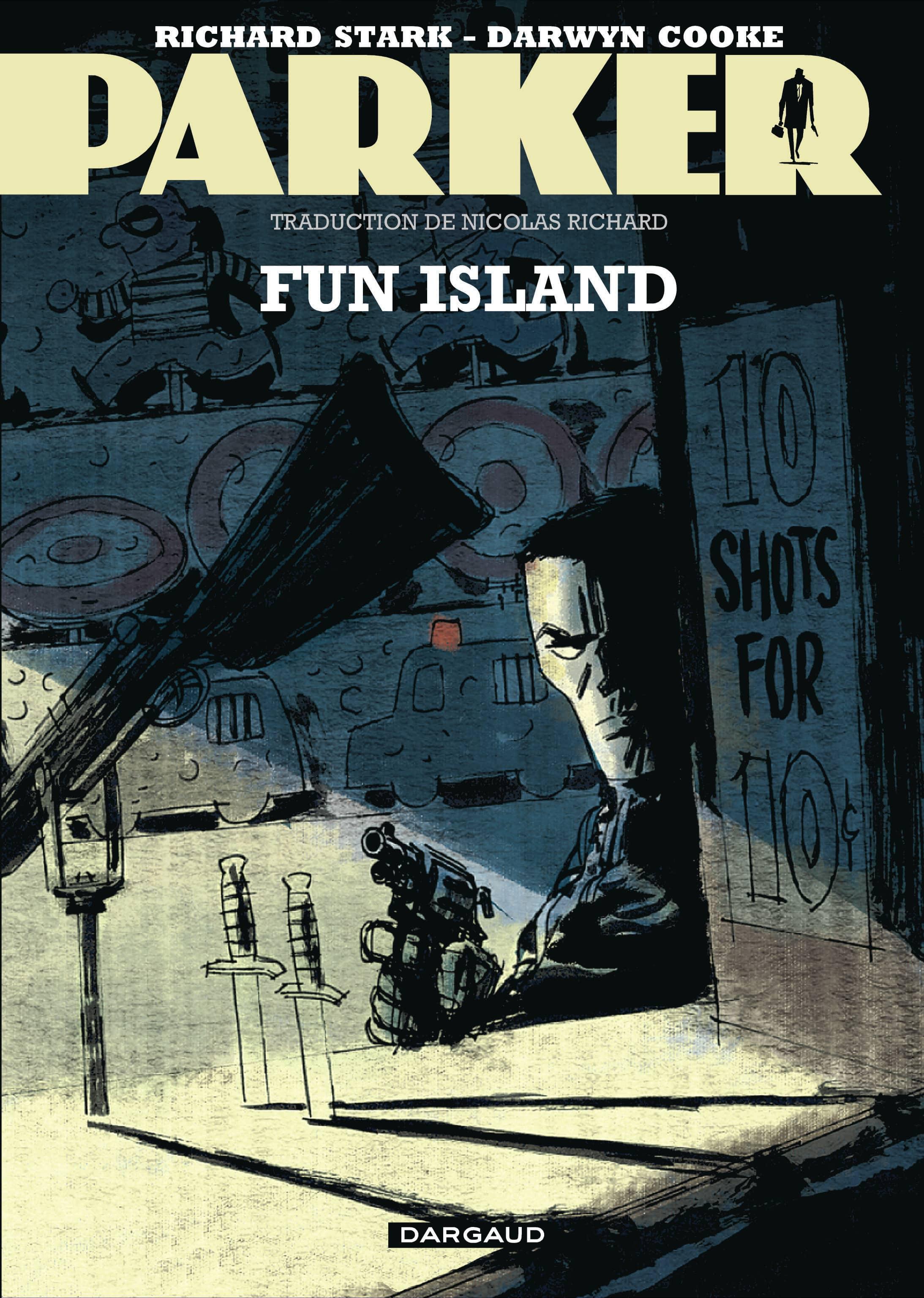 Parker est à la fête à Fun Island