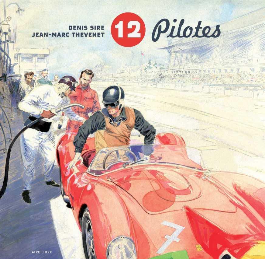 Artbook, 12 pilotes de légende chez Dupuis