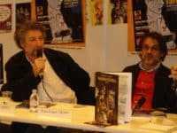 Régis Loisel et Tripp au Salon du Livre à Paris pour la sortie d'un tome de Magasin Général JLT ®