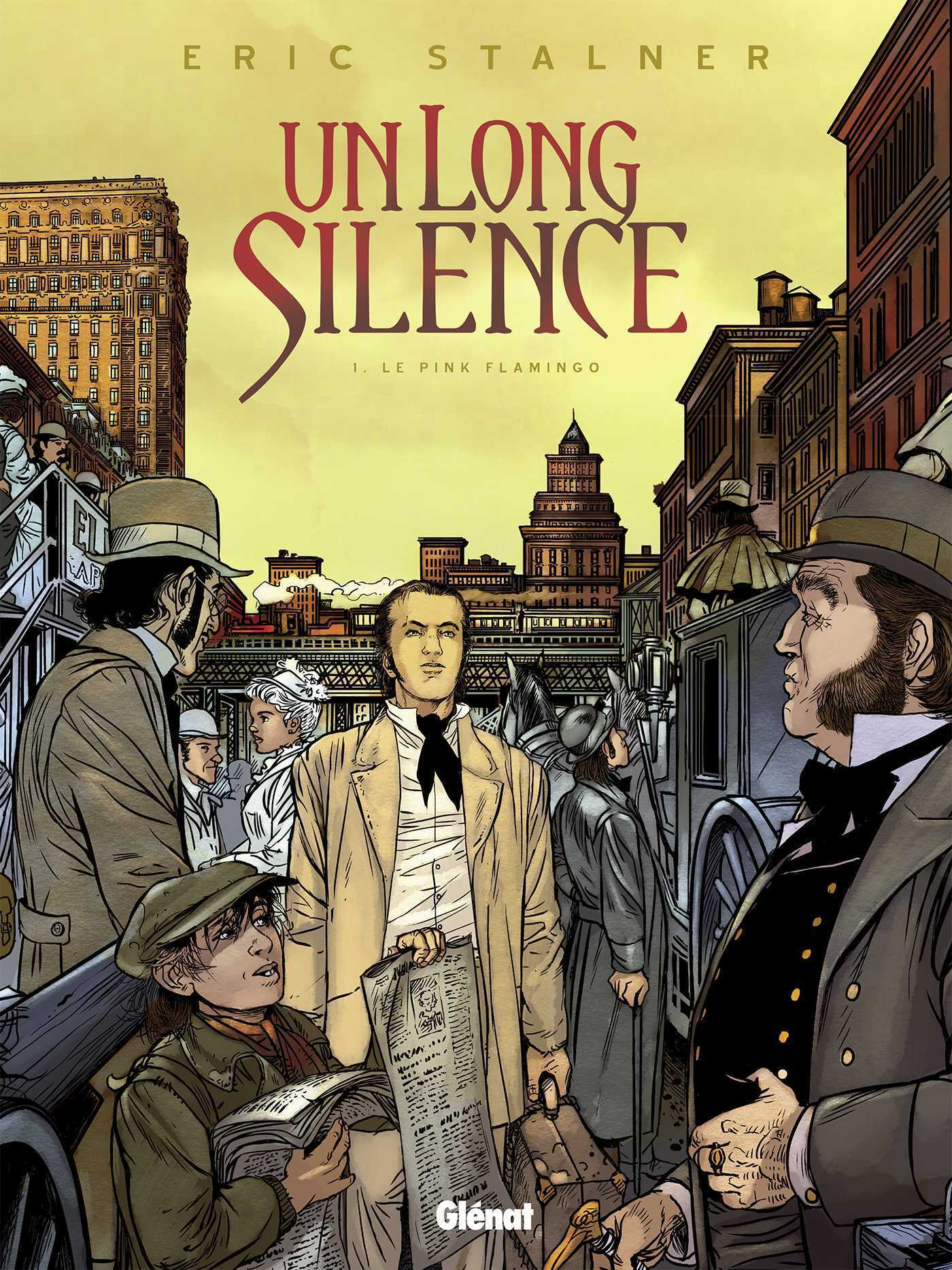 Un Long silence, Eric Stalner revient au réalisme sur fond historique