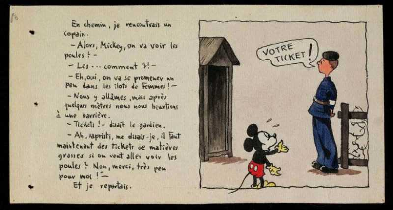 Les carnets de dessins de Horst Rosenthal