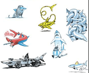 Des requins pas chagrins avec Julien/CDM en dédicace à l'Aquarium de Paris
