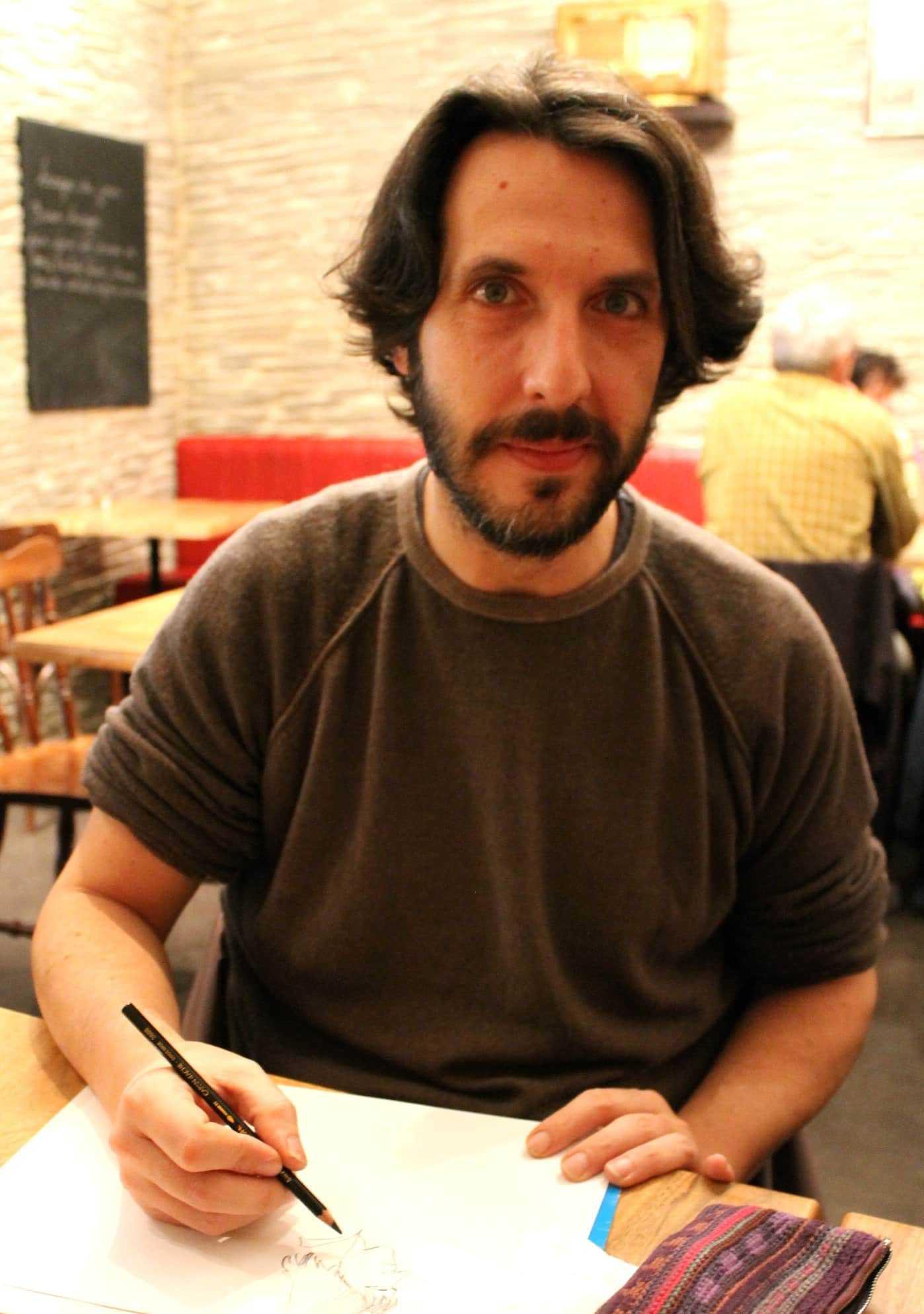 Interview : Luigi Critone à Montpellier pour le tome 2 de Je, François Villon