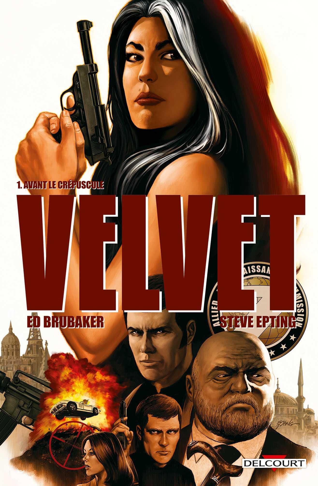 Velvet, une secrétaire très efficace par Ed Brubaker et Steve Epting