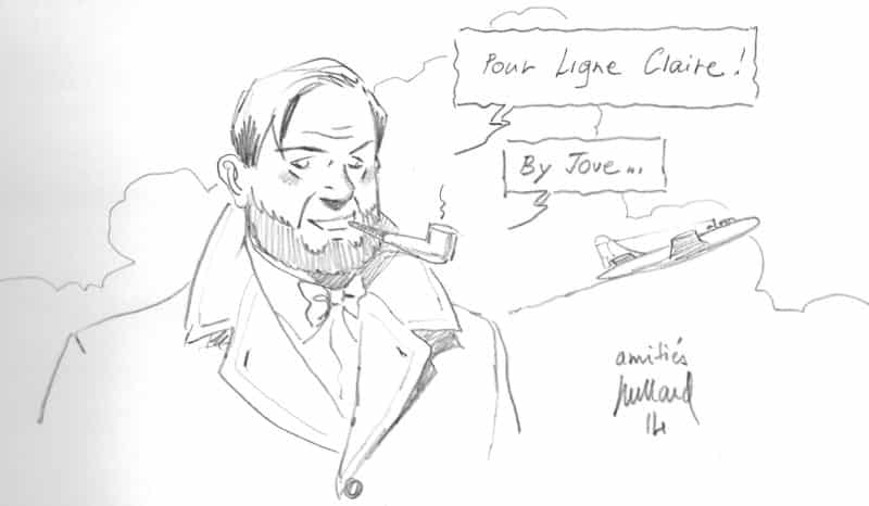 Dédicace d'André Juillard