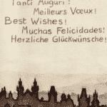 Giardino vous souhaite une très bonne année 2015 et Ligne Claire vous présente ses meilleurs vœux