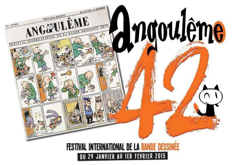 Festival BD d'Angoulême 2015