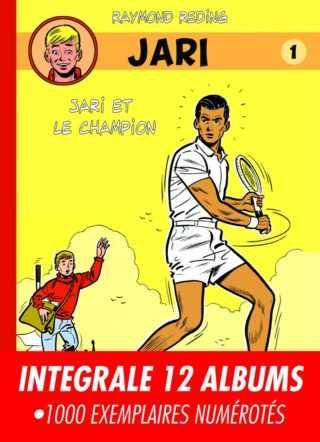 Jari, un jeune champion de tennis dont les aventures sont rééditées