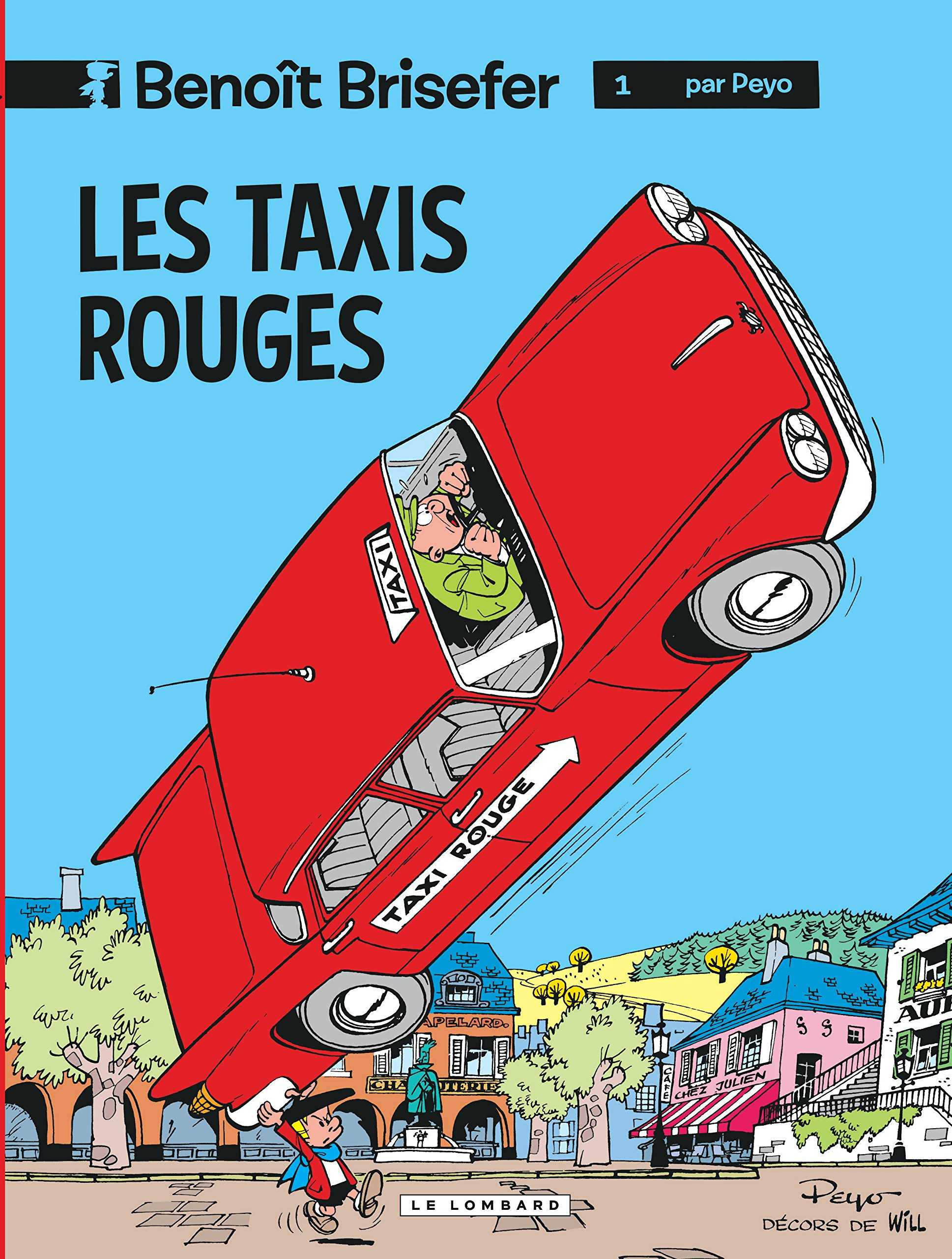 benoit brisefer les taxis rouges film