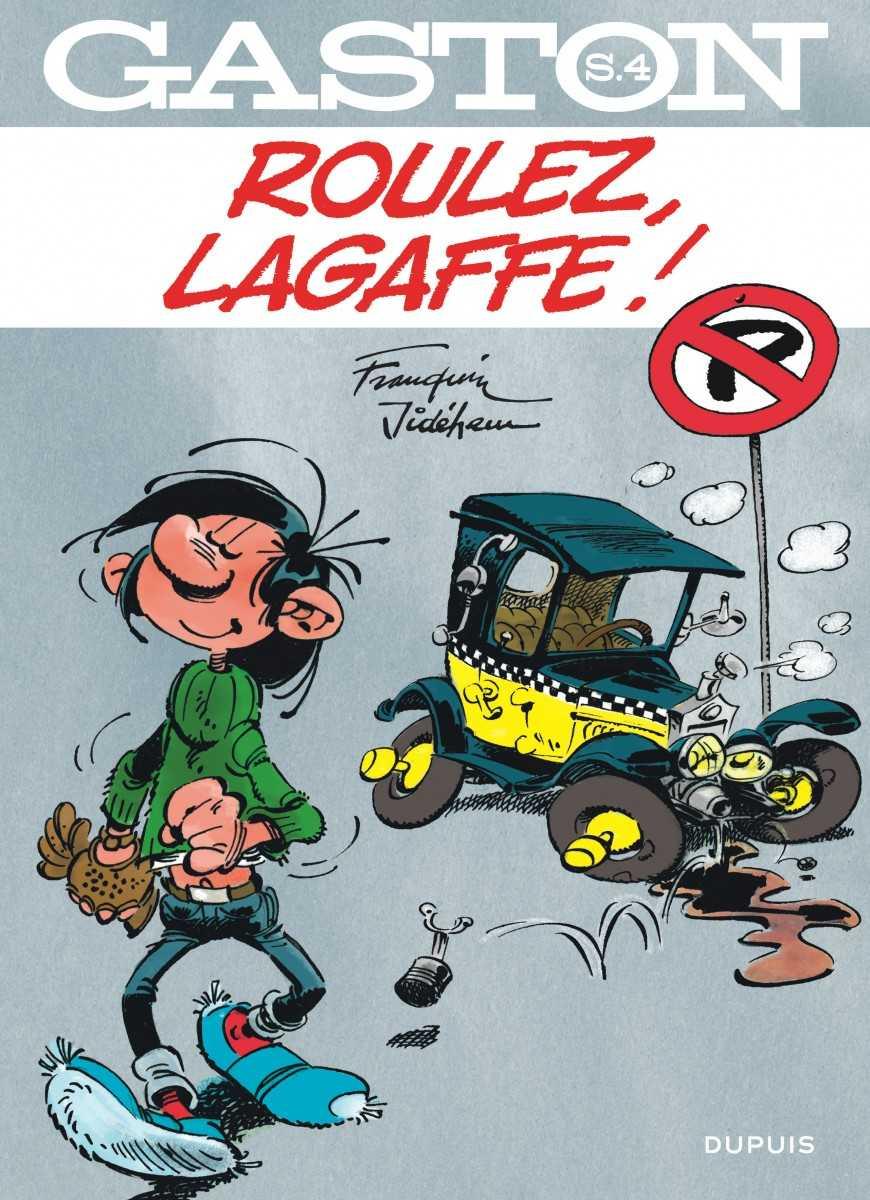 Gaston, roulez Lagaffe !