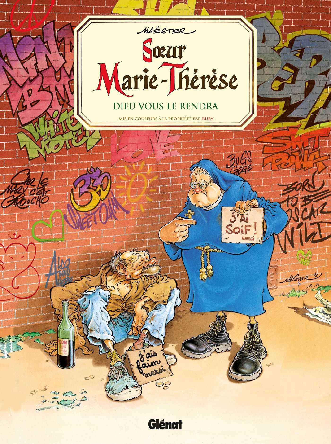 Sœur Marie-Thérèse des Batignolles vous souhaite un Joyeux Noël