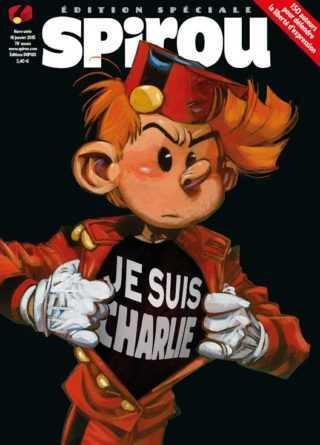Spirou Je suis Charlie