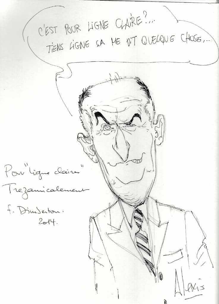 Dédicace de François Dimberton