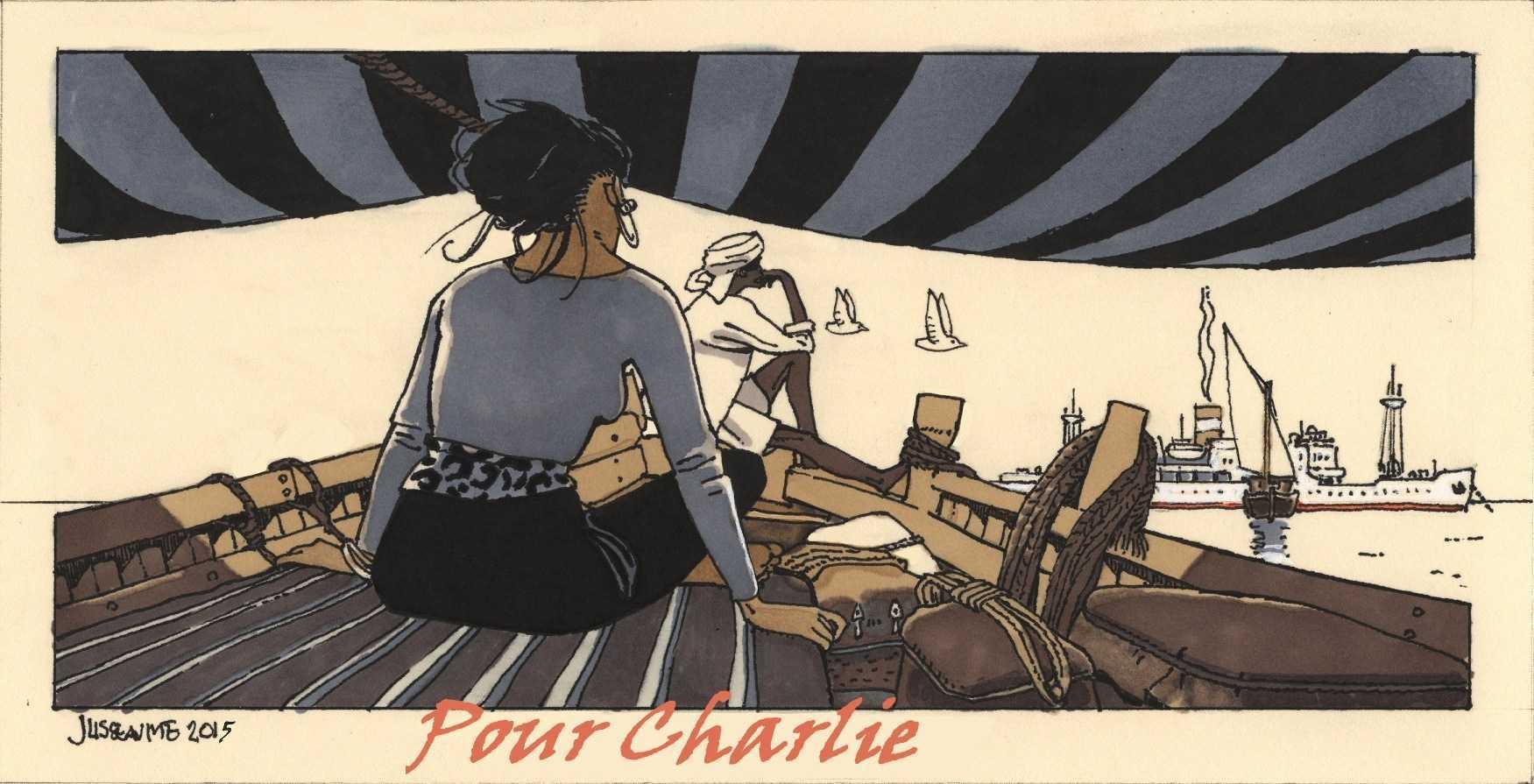 Je suis Charlie : tous les éditeurs vont publier ensemble un album en hommage