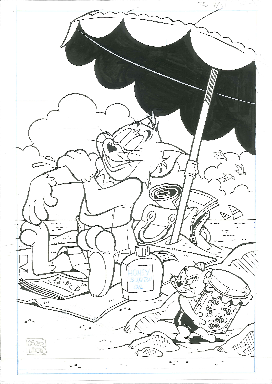 Tom et Jerry, avec Oscar Martin, sont de passage à Bruxelles