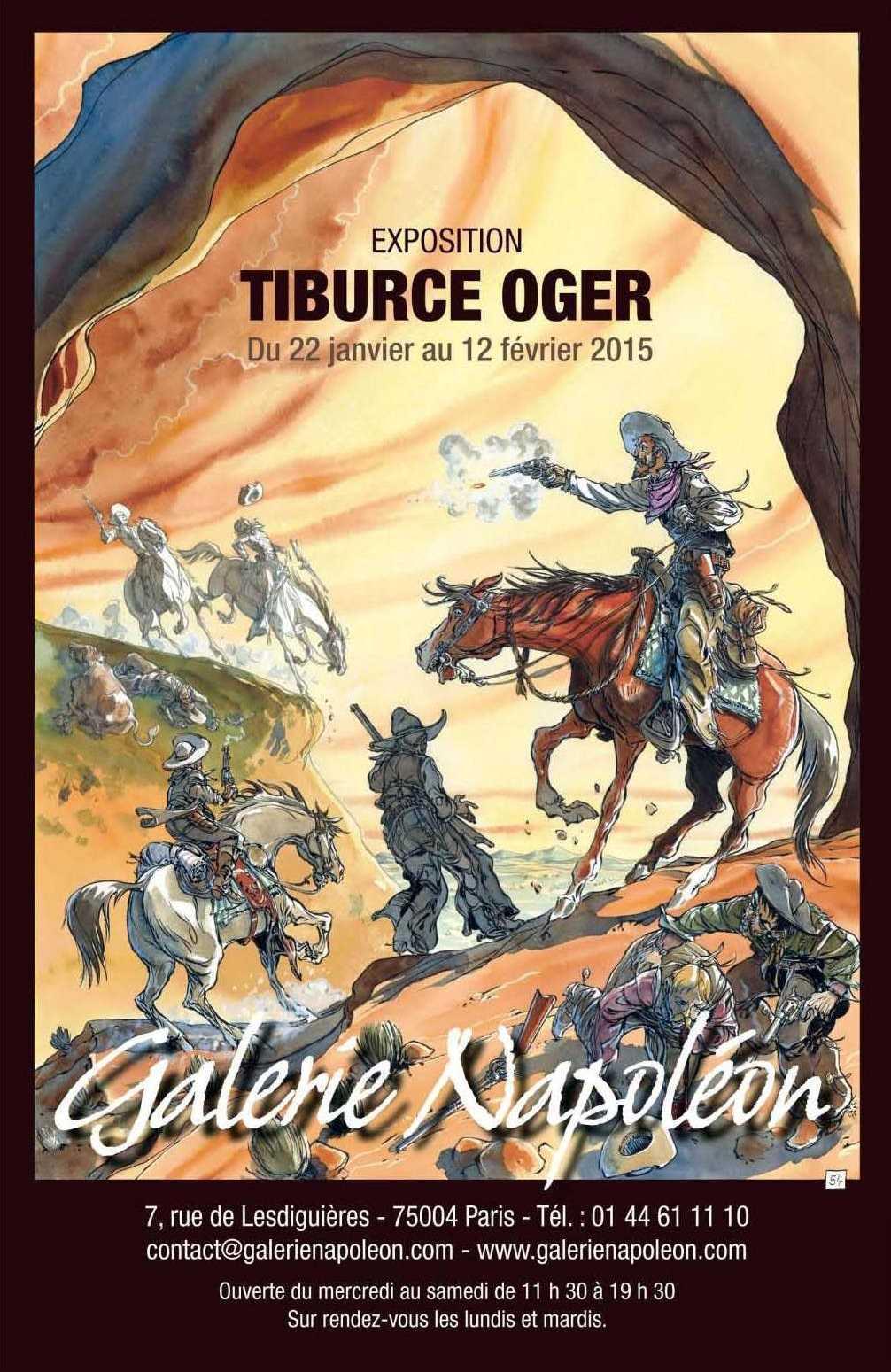 Tiburce Oger expose son Buffalo Runner à la Galerie Napoléon à Paris