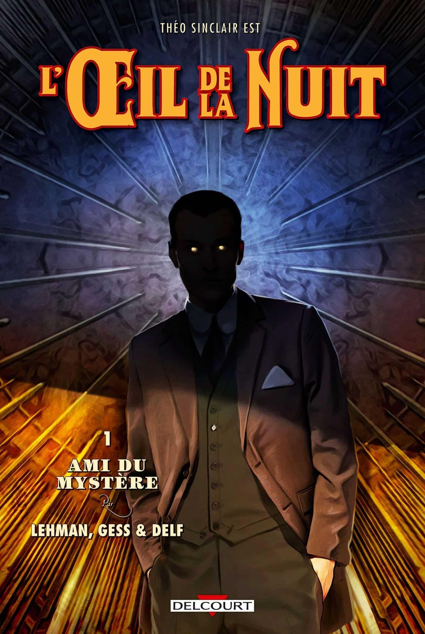 Dossier : L'Œil de la Nuit et le Nyctalope, un fascinant justicier détective chez Delcourt