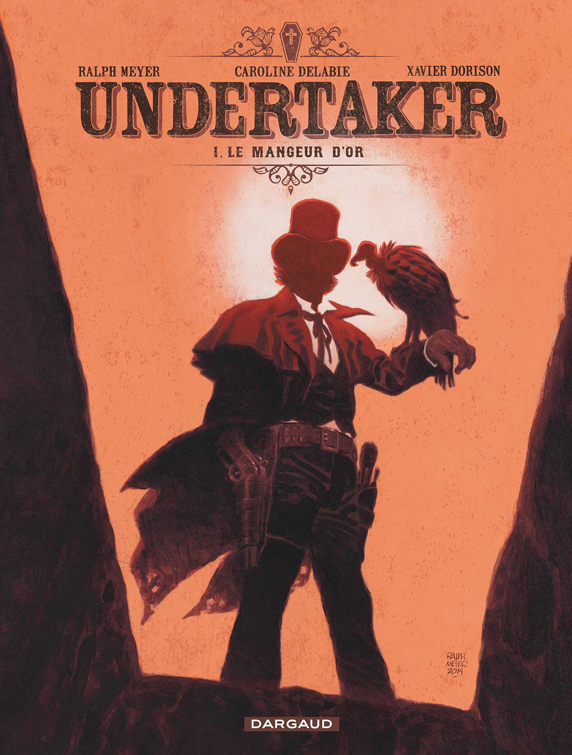 Deux nouveaux titres, Undertaker et Le Grand méchant renard, pour le prochain Prix des libraires BD